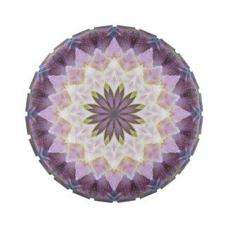 Hagi Mandala large round candy tin
