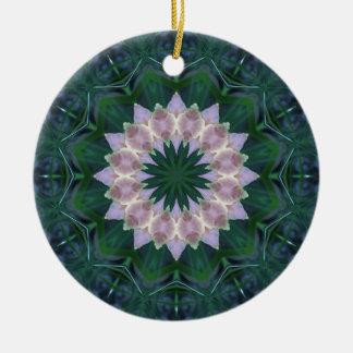 Hagi Mandala Round Ceramic Decoration