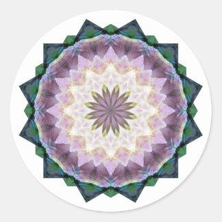 Hagi Mandala Round Sticker