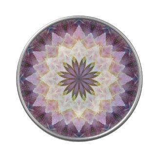 Hagi Mandala see-thru round candy tin