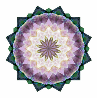 Hagi Mandala Shape-Cut Magnet Photo Sculpture Magnet