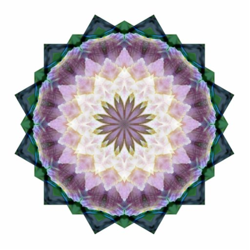 Hagi Mandala Shape-Cut Magnet Photo Cut Outs