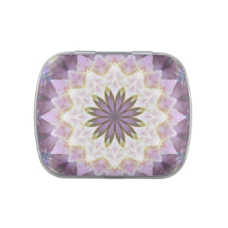Hagi Mandala square candy tin