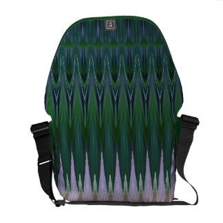 Hagi Stripe Medium Messenger Bag