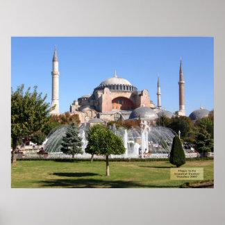 Hagia Sofia - Istanbul, Turkey Poster