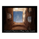 Hagia Sophia Courtyard Postcard