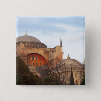 Hagia Sophia inaugurated by the Byzantine 15 Cm Square Badge