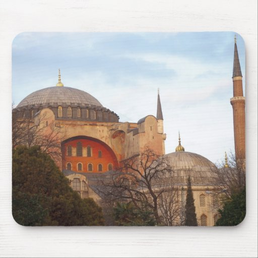 Hagia Sophia inaugurated by the Byzantine Mouse Pads