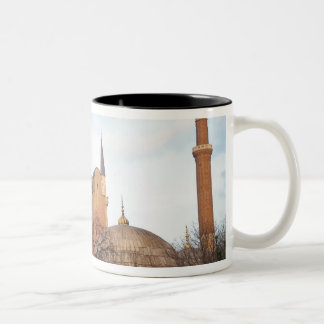 Hagia Sophia inaugurated by the Byzantine Two-Tone Coffee Mug