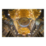 Hagia Sophia Interior in Istanbul Photograph