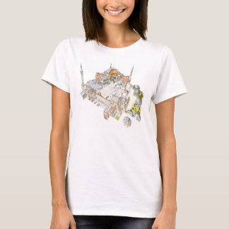 Hagia Sophia. Istambul Turquey. T-Shirt