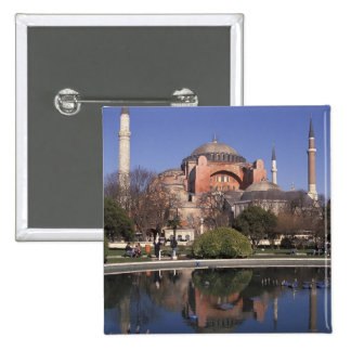 Hagia Sophia, Istanbul, Turkey 15 Cm Square Badge