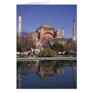 Hagia Sophia, Istanbul, Turkey Card
