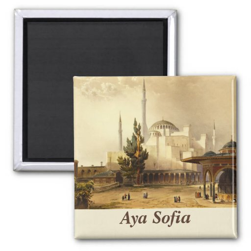 Hagia Sophia Magnet Magnets