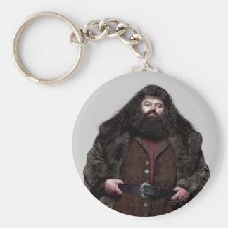 Hagrid and Dog Basic Round Button Key Ring