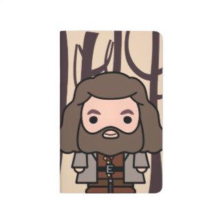 Hagrid Cartoon Character Art Journal