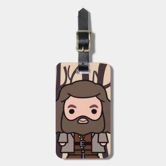 Hagrid Cartoon Character Art Luggage Tag