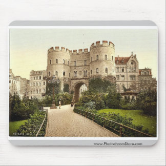 Hahnenthor, Cologne, the Rhine, Germany classic Ph Mouse Pad