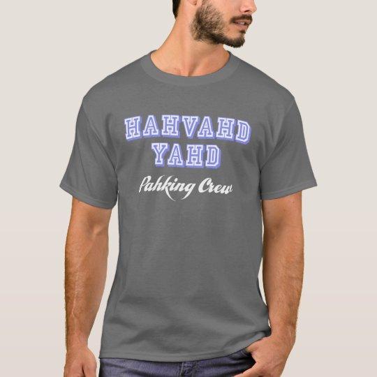 Hahvahd Yahd Pahking Crew T-Shirt