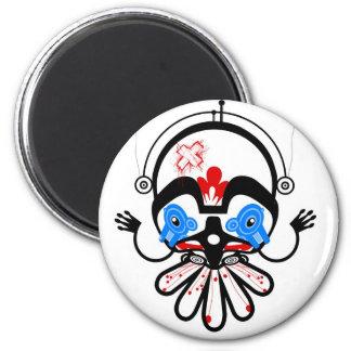 haida2 6 cm round magnet