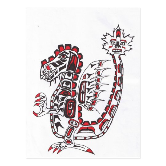 Haida Dragon Postcard