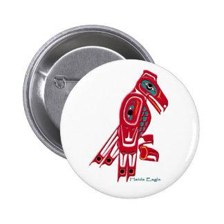 HAIDA EAGLE Native American Art Button Collection