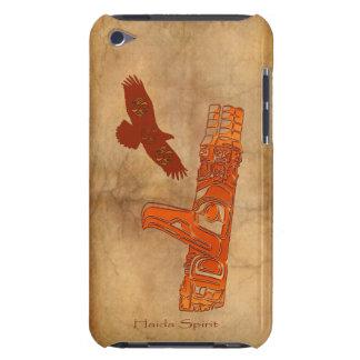 Haida Eagle Totem Pole Native Art iPod Case-Mate Cases