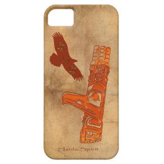 Haida Eagle & Totem Pole Native Art iPhone 5 Covers