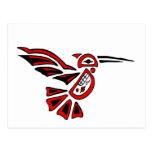 haida hummingbird post cards