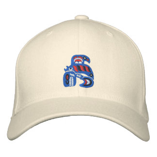 Haida Killer Whale Embroidered Cap