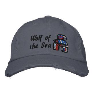 Haida killer whale embroidered hat