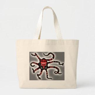 Haida Octopi Jumbo Tote Bag