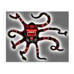 Haida Octopi Postcard