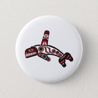 Haida  Orca 2012 6 Cm Round Badge