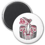 Haida Raven Design Refrigerator Magnet
