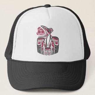 Haida Raven Design Trucker Hat