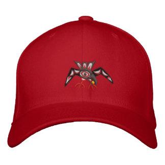 Haida Raven Steals the sun Embroidered Cap