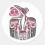Haida Raven Sticker