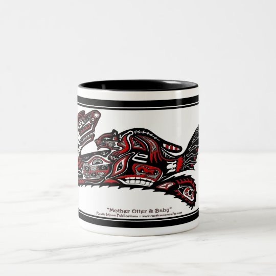 """HAIDA SPIRIT"" Wild Otter Wildlife supporter Mug"