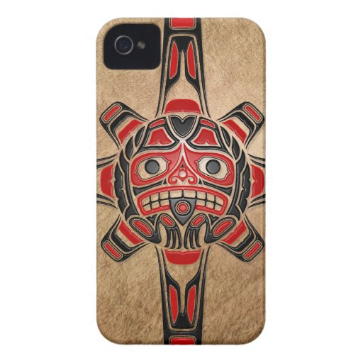 Haida Sun Mask Blackberry Cases