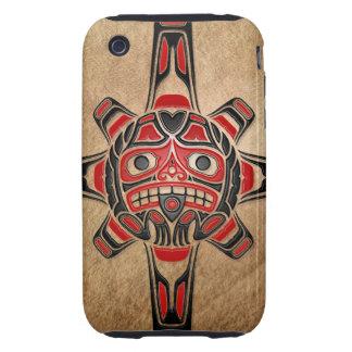 Haida Sun Mask iPhone 3 Tough Case