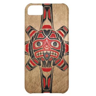 Haida Sun Mask Case For iPhone 5C