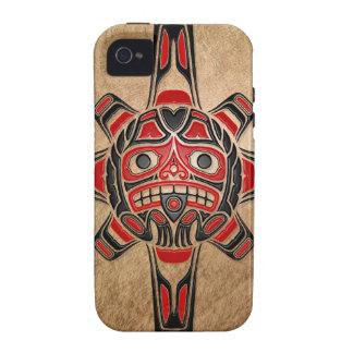 Haida Sun Mask iPhone 4/4S Covers