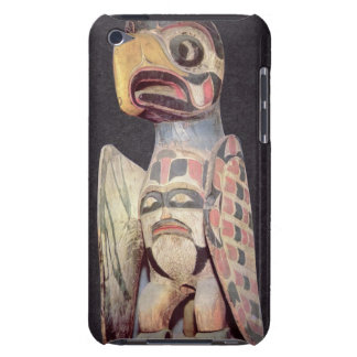 Haida 'Thunderbird' statue (painted wood) iPod Touch Covers