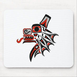 Haida Wolf 2012 Mouse Pads