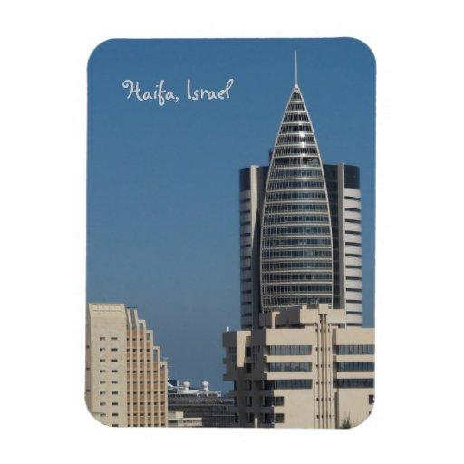 Haifa View Vinyl Magnet