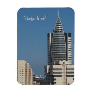 Haifa View Rectangular Photo Magnet