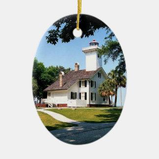 Haig Point Lighthouse Christmas Ornament