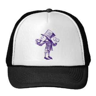 Haigha (Mad Hatter) Inked Purple Cap