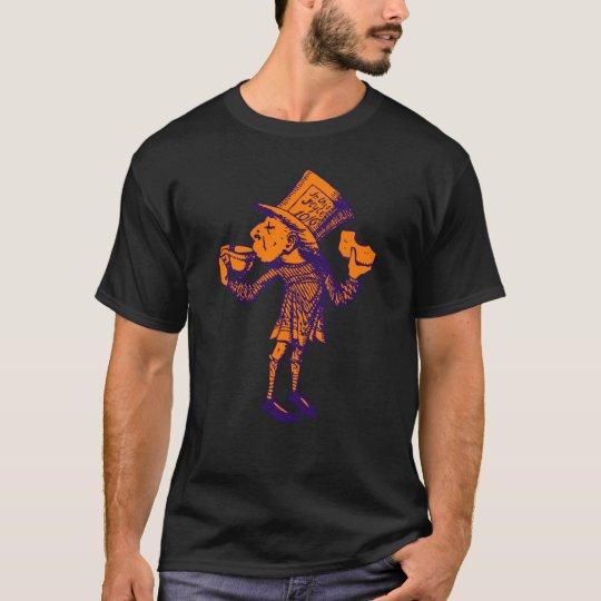Haigha (Mad Hatter) Inked Purple Orange T-Shirt